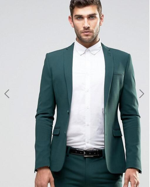 High Quality Slim Fit Suit Wedding Green Jacket-Buy Cheap Slim Fit ...