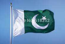 Pakistan Flag 150x90cm custom flag banner at all size national flags, free shipping