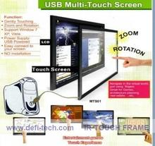 "DefiLabs 65"" IR Infrared Touch Screen Frame without Interactive projection glass(China)"