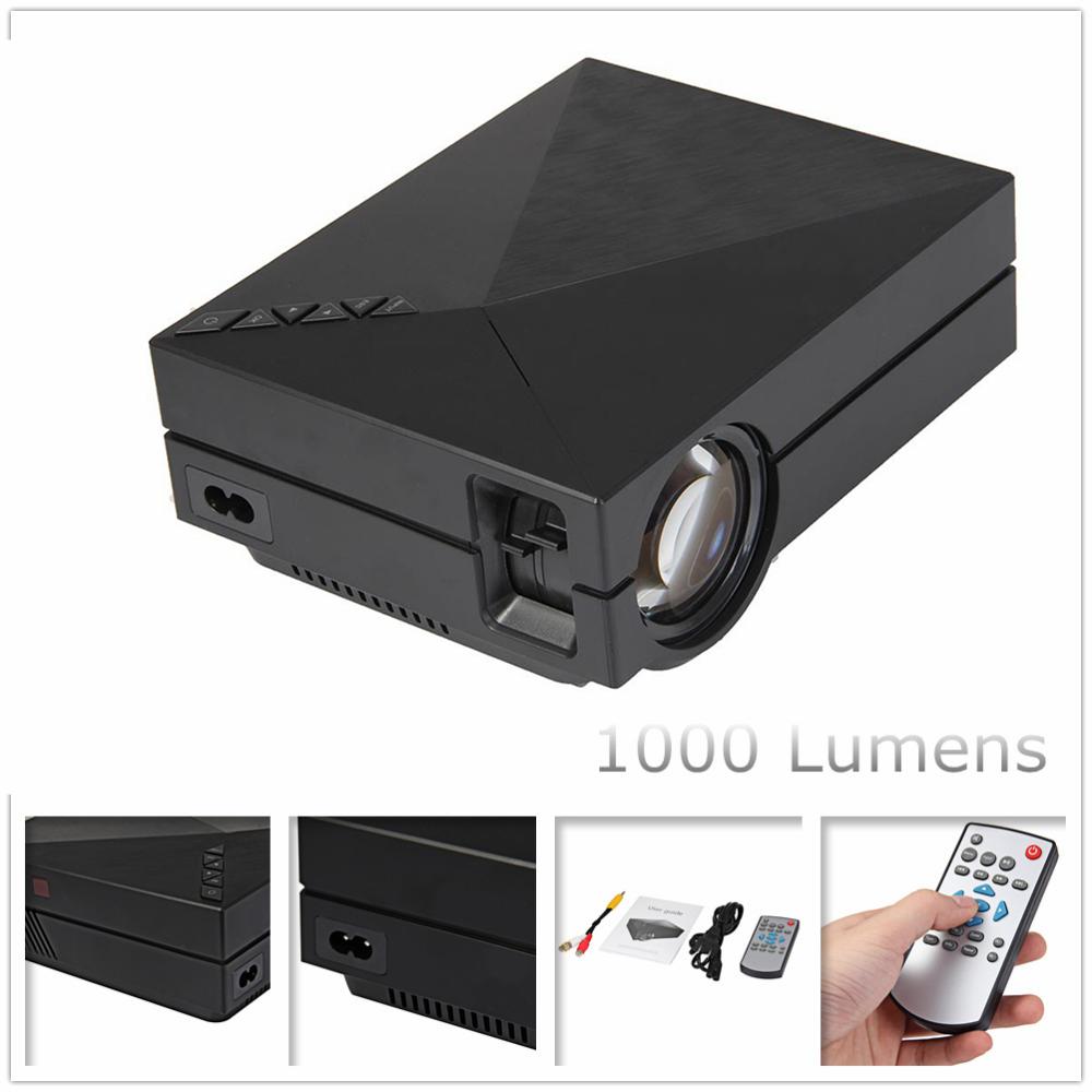GM60-MINI-F-HRTE-Projektor-800-480-1000-Lumen-F-r-HD-Video-Spiele-TV-Heimkino