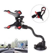 Universal 360 Flexible Arm Car Phone Mount Holder Stand for iPhone 6 6s 7 Silicone Suction Cup Desk Car Windshield Dashboard
