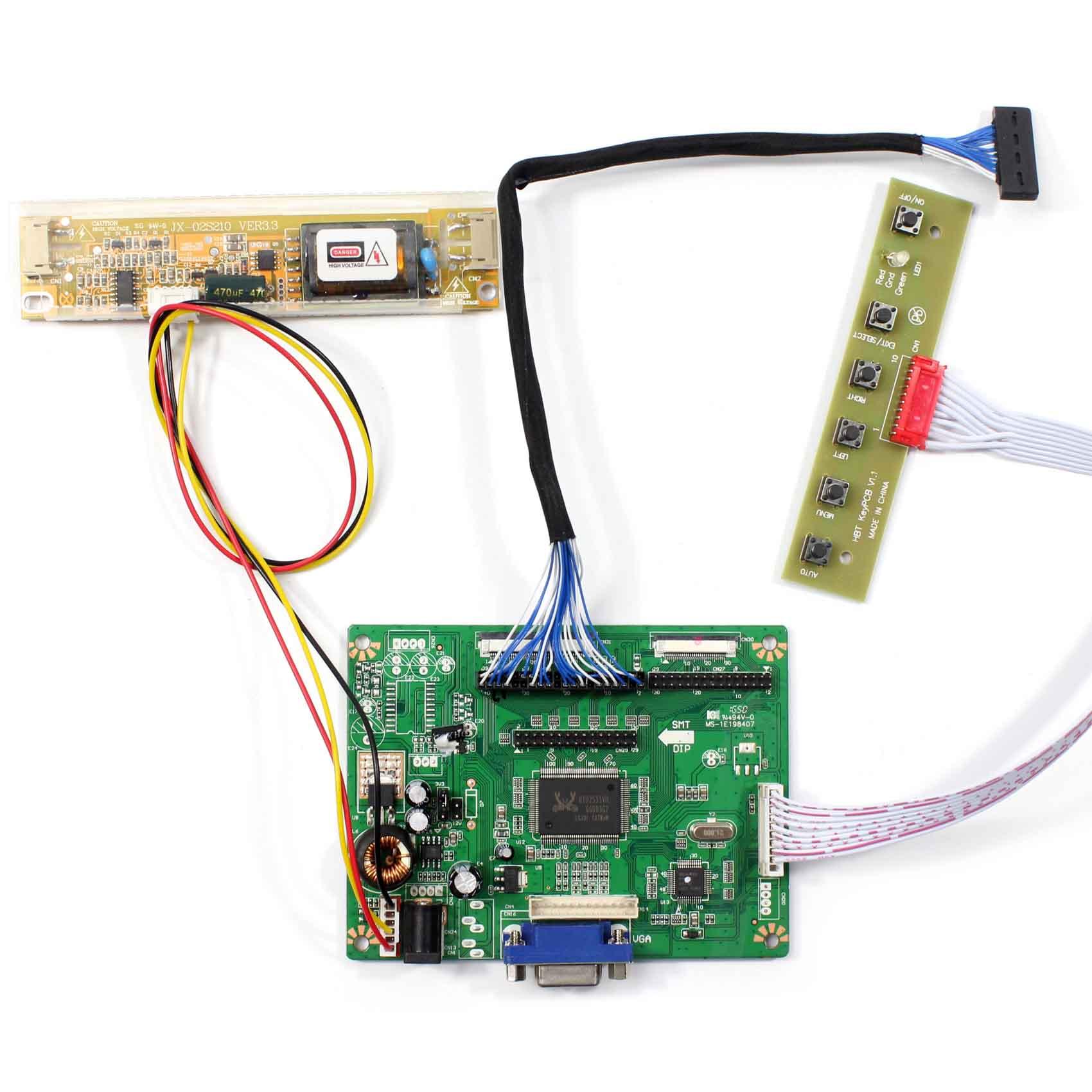 DVI  CONNECTOR LCD Controller Board Kit For TOSHIBA LTD121C30S