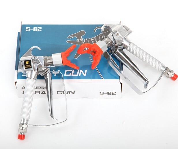 2016 New Professinal Quality Airless Spray Gun Paint Sprayer Parts airless gun spray pain gun with best  price<br>