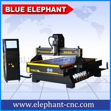 wood cnc router 1325 for door and chair making with vaccum table and dust collector/wood carving vacuum 3 Axis Pcb Milling