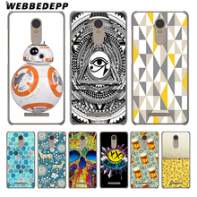 WEBBEDEPP Beer Amp Pretzel Pattern Cover Case for Xiaomi Mi6 Mi5 Mi5S Plus Redmi 3 4 Pro 3S Note 2 3 Pro 4 4X 4 Prime 4A