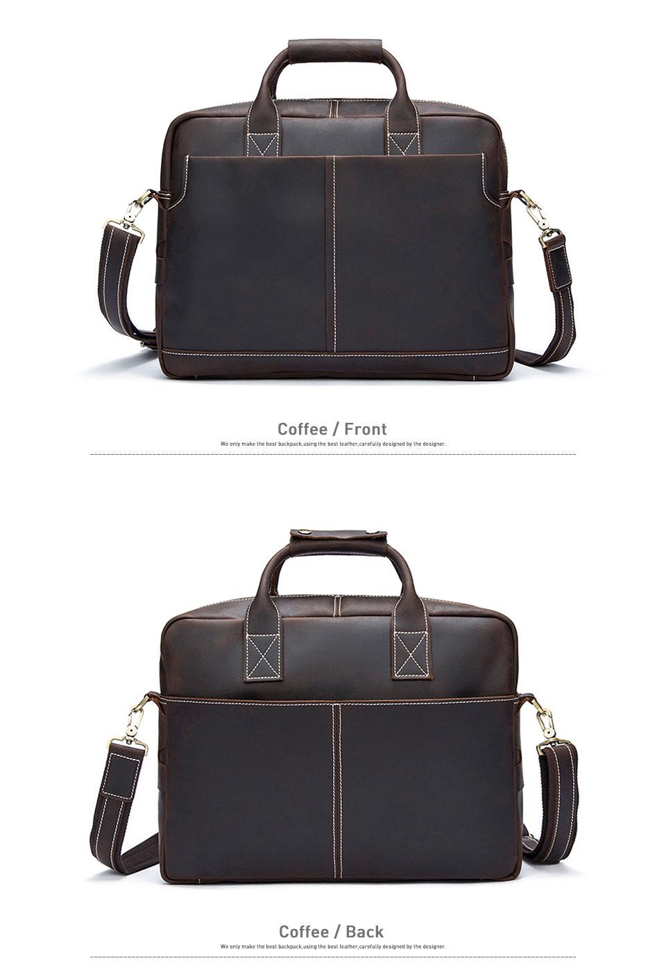 5 shoulder bag men genuine leather