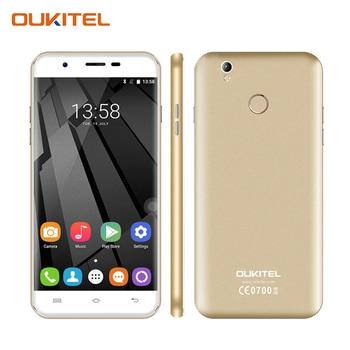 Oukitel U7 Plus 5.5 Pouce HD Écran Smartphone 2 GB RAM + 16 GB ROM Téléphone portable MT6737 Quad-Core Android 6.0 Mobile Téléphone
