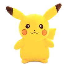 50cm/65cm big size Lovely Pikachu plush kids toys High quality Anime Toys Stuffed Animals Dolls for Children Christmas Gifts(China)