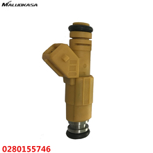 MALUOKASA Car Fuel Injector Upgrade For Jeep/Porsche/BMW/Volkswagon VW Golf For Volvo Genuine/ BOSCH Auto Replacement 0280155746(China)