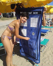 Doctor Who TARDIS towel  kids soft bathroom Bath Towel child beach Summer Swimwear Face Shower Towels Washcloth PLUSH