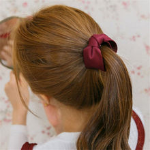 Fashion ponytail holder flower hair claw clip wholesale lot accessories For Women Girls hair fabric bow hairpin Headwear