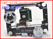 DVD Optical pick up  CMS-S77R  for DVD Laser head 23pin Lens  SOH-DL5FS  with plastic mechanism   CMS S77R     SOH DL5FS