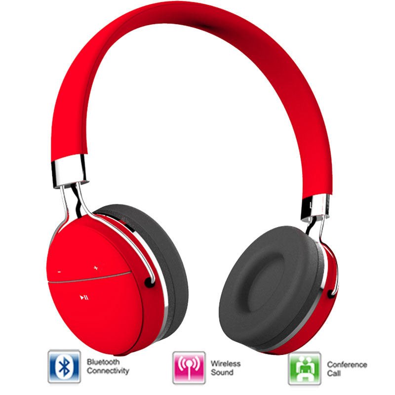 New arrival earphone Bluetooth HIFI headphone Wireless Headphones with microphone noise cancelling Stereo Earphone mobile phone<br><br>Aliexpress