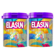 ELASUN 24 pcs 4 Types Dotted Pleasure Ultra Thin ontraception Condoms Ice and Fire for her Natural Latex Rubber Condoms For Men(China)
