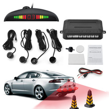 Buy Car Parking Sensor Kit Auto LED Display Reverse Assistance Backup Radar Monitor Parking System 4 Park Sensors for $109.00 in AliExpress store