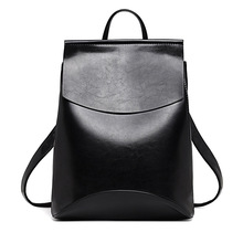Designer High Quality Leather Backpacks For Teenage Girls Sac A Main Women Vintage Backpack School Mochilas Escolar Shoulder Bag