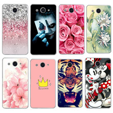 Cartoon Flower Case for Huawei Y3 2017 for Huawei Y5 2017 Tpu Fashion Phone Case for Huawei Y3 2017 Back Cover Fundas Coque