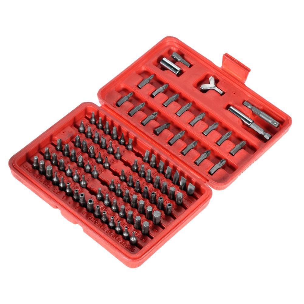 100pcs precision Screwdriver Head Set Torx Hex Bit tournevis set de destornilladores de precision tornavida seti for iphone<br><br>Aliexpress