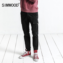 SIMWOOD Cargo Pants Men 2017 Autumn New Pockets Army Tactical Pants Men Vintage Casual Trousers Slim Fit Plus Size XC017041(China)