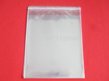 100pieces/lot 20*30cm Self Adhesive Seal OPP bag - All clear plastic poly bags books/fabric/card packing pouch self-sealed