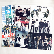 8 pcs/set different designs A3 Posters KPOP group WINNER Paintings Wall Pictures Wall Sticker HB082