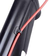 2 Set MTB Mountain Bike V Brake Noodles Cable Guide Bend Tubes+Sleeves Accessory
