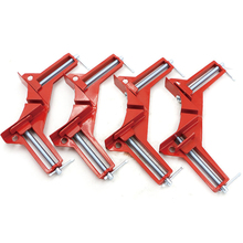 4pcs Style 90 Degrees Angle Clamp Right Angle Woodworking Frame Clamp DIY Glass(China)