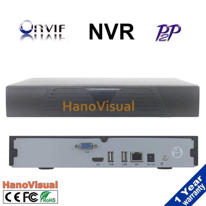 Neohorizon best ONVIF H.264 Full-HD 1080P 4CH NVR Network Video Recorder For wired  IP Camera security system Support IE Cloud <br>