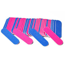Hot Sale Wholesale Manicure Pedicure Nail Tools Sanding Salon Buffer Nail File 5cm long 100pcs/bag grit 180/240