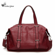 Osha qian Newest Hand Bag Women Genuine Leather Handbag Large Tote Bag Bolsas femininas Female Shoulder Bag Handtassen dames