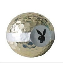 10pcs Coloured Ribbon Golf Ball Used in Opening Ceremony(China)
