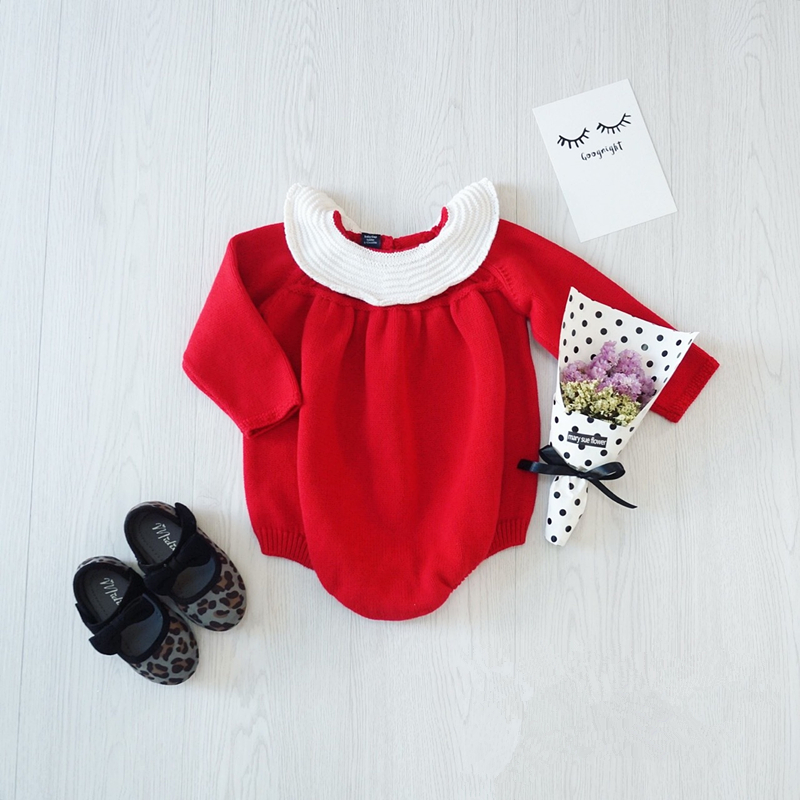 MAKA KIDS Autumn Knit Jumpsuit Kids Romper baby girl Clothes BOBO CHOSES Children Rompers Kids Sweater KIKIKIDS Vetement Fille<br><br>Aliexpress