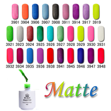 BORN PRETTY Matte Soak Off Nail UV Gel Polish  29 Colors Manicure Nail Art UV Varnish Tool