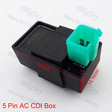 AC CDI Ignition Box 5 Pin For 110cc 125cc 140cc 150cc 160cc Pit Dirt Bike ATV Quad Buggy Scooter Motorcycle Motorbike Motocross