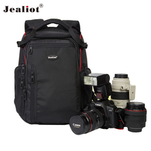 2017 Jealiot Multifunctional Professional Camera Bag laptop Backpack waterproof shockproof Video Photo Bags case for Canon DSLR