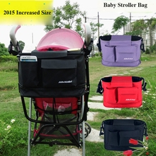 Large Bolsa Maternidade Baby Changing Bag Pram Hanging Stroller Bag Baby Things Bottle Storage Shoulder Bag MMB-5
