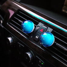 2Pcs Car Perfume Auto Air Freshener Air Conditioning Outlet Fragrance Auto Decoration Car-styling Interior Supplies(China)