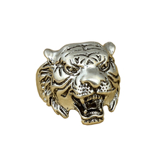 Vagula Fashion jewelry wholesale men tiger head ring 2017 new style spot Men's Ring exaggeration Punk Ring