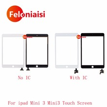 20Pcs/lot DHL EMS For iPad Mini 3 Mini3 A1599 A1600 A1601 Touch Screen Digitizer Sensor Front Outer Glass Lens Panel With IC(China)