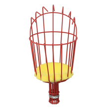Fruit Picker Basket Fresh Orange Apple Plum Pear Peach Etc. for Broom Pole Stick Red(China)
