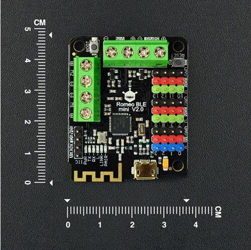 DFRobot Romeo BLE multi-function controller Mini/Micro Edition/Version V2.0, ATmega328P Bluetooth 4.0 TI CC2540 for Arduino UNO<br>