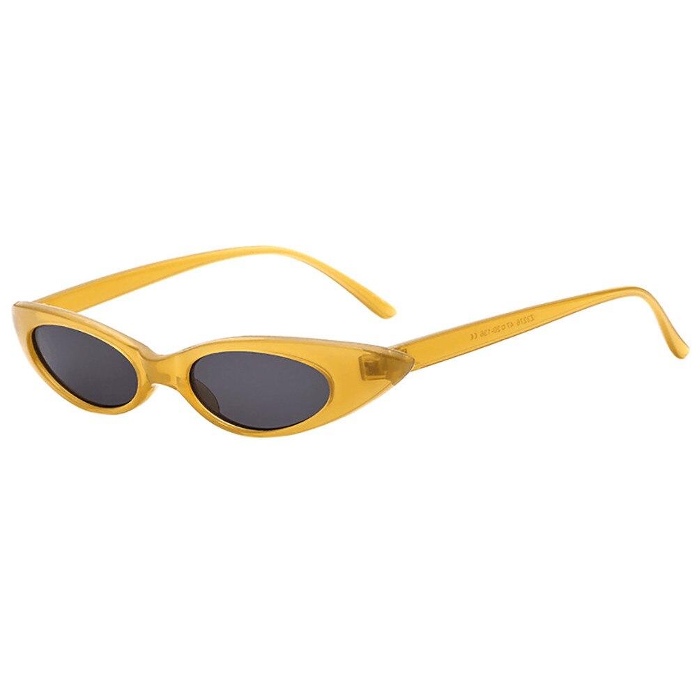 Retro Clout Goggles Unisex Sunglasses Rapper Oval Shades Grunge Glasses 1pcs