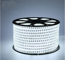1M~ 25M SMD 2835 AC 220V led strip  Tape waterproof flexible bar light 120 led/M with EU plug outdoor garden party decoration