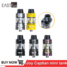 Original IJOY Captain Mini Subohm Tank 3.2ml Electronic Cigarette Atomizer with CA-M1 M2 coil Head Fits CAPO 100 Box MOD Vape(China)
