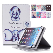 "Wallet PU Leather case cover For Ainol Novo 10 Hero II 2 10.1""Inch capa tablet 10 inch universal+Center flim+pen KF553c(China)"