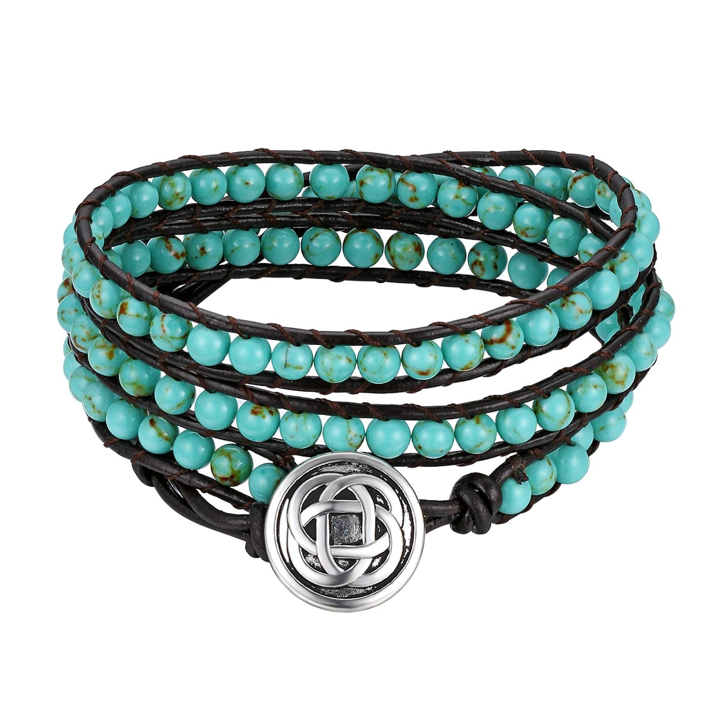 Vintage Himalayan Style Leather Bracelets