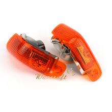 High Quality Turn Signals Indicator Light Blinker Lens Front For KAWASAKI ZZR 400 600 ZX600E 1994-2004 Amber