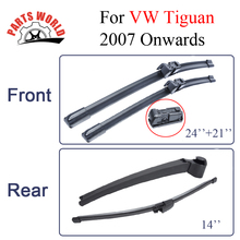 Windscreen Wiper Blades For VW Tiguan 2007 Onwards Fit Windshield Rubber Wipers Arm,Auto Parts Car Accessories