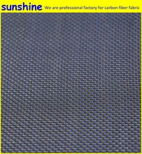 3k 210gsm Blue Silver Colorful Carbon Fiber Cloth The Most Popular Composite Material Rayon Weave Plain