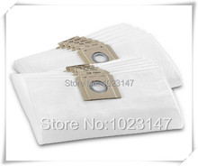 (2 pieces/lot) Vacuum Cleaner Cloth Bags Dust Bag Filter Bag for Karcher T8/1 T12/1 DS 5300 NT 25 NT series Cleaner Accessories
